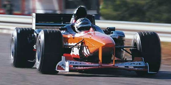 AGS Arrows V10 Formel 1 Kurs Pannonia Ring