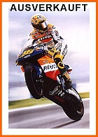 Rossi Superstar 46 Poster Moto GP SOLD out