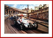 Race of the Titans Poster print Monte Carlo Grand Prix 1937